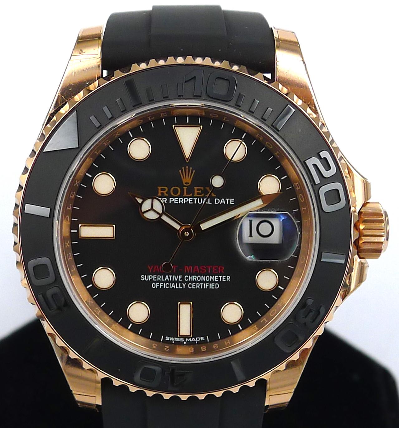 Rolex Yacht Master 40 Ref 116655 Everose Gold Bnib Gr