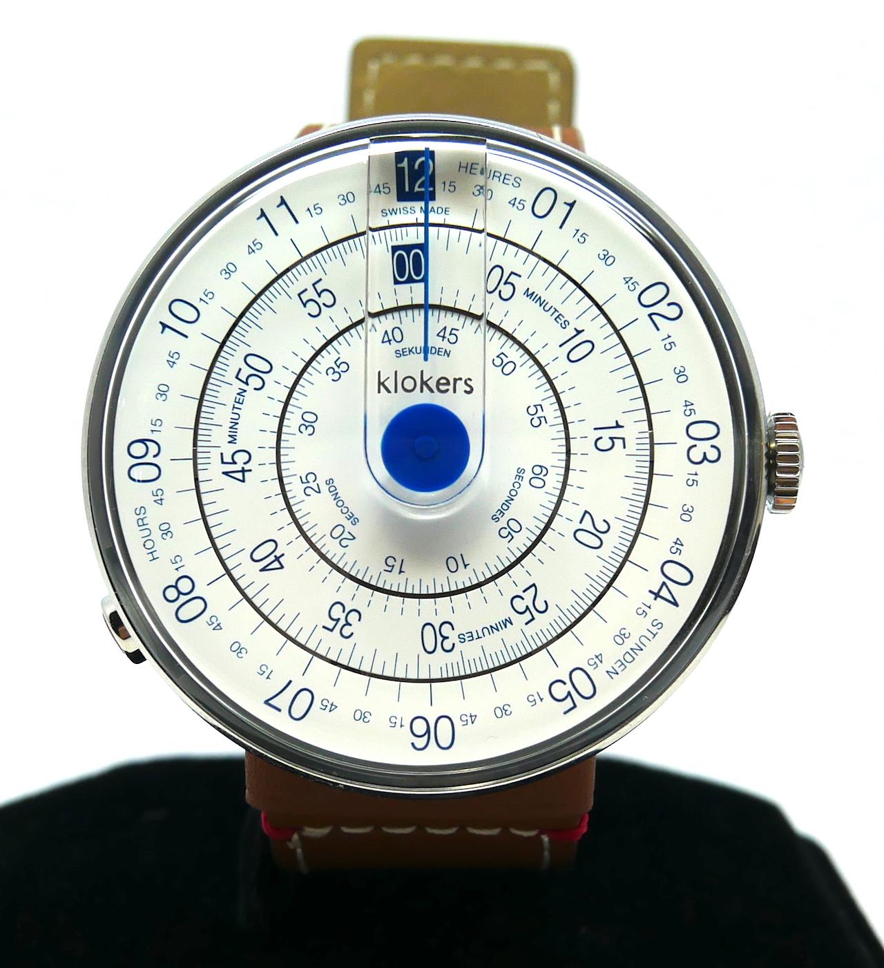 Klokers Klok-01-D4 Stainless Steel (BNIB) | GR Luxury-Singapore Rolex Reliable Watch Dealer